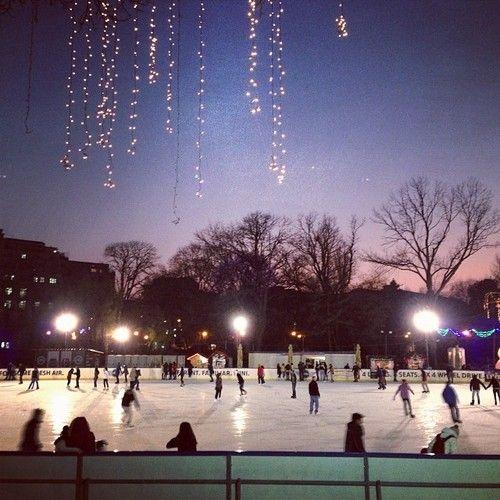 ice skating, Bucharest, Cismigiu Park