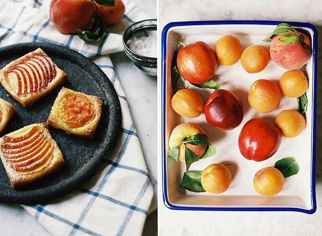 Simple Stone Fruit Tartlets by yossy | apt2bbakingco, via Flickr #splendidsummer