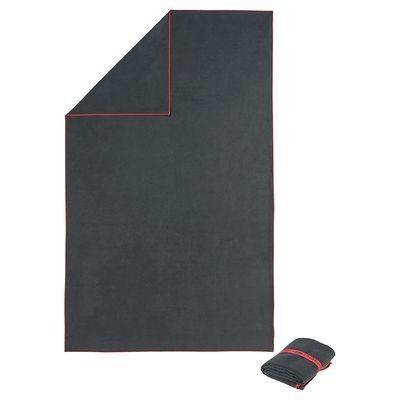 Toallas Toallas - Toalla microfibra XXL gris 110x180cm NABAIJI - Categorías Catalogos