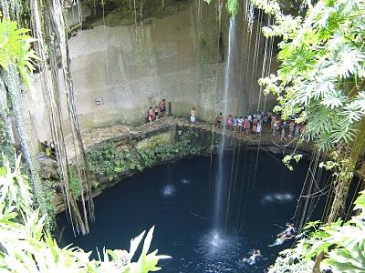 Sinkhole, Cancun, Mexico