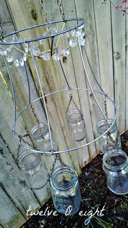 9 best Lamp Shade Frames images on Pinterest | DIY, Chandelier ...