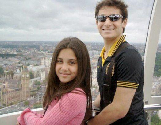 Ariana Grande and Frankie Grande's throwback photo!