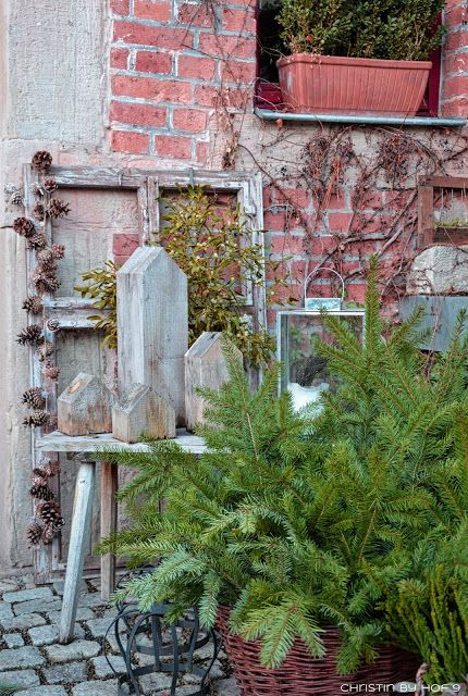 20 besten gartendeko im winter bilder auf pinterest hof for Gartendeko advent
