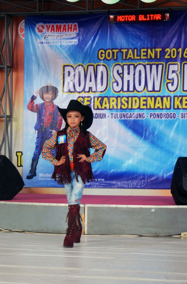 Cowboy competition for Yamaha got talent