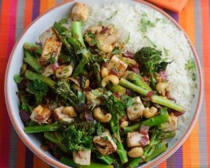 , cashew and tofu stir fry recipe | I fell in love with a vegetarian ...