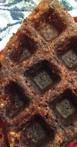 Carrot pinto waffle