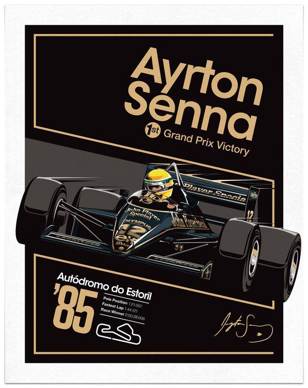 Sean Kane . Ayrton Senna x JPS . Behance https://www.facebook.com/pages/Ayrton-Senna-Tribute-2014/674310202636141