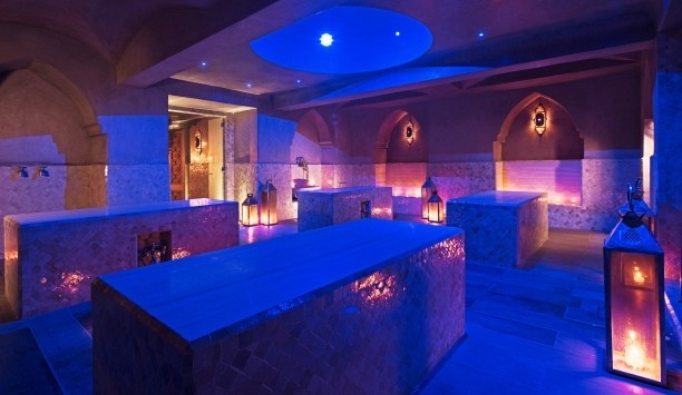 Delano Marrakech: The Pearl Spa is a 20,000-square-foot space, with traditional hammans and treatment rooms.