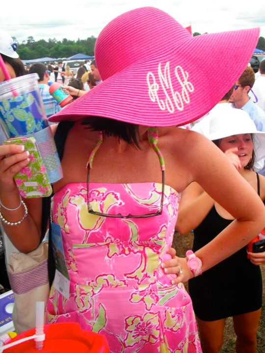 Lilly, Lilly, and more Lilly. Love the monogrammed floppy hat, the croakies, and the sundress. Phone case. Ahh I love it all!