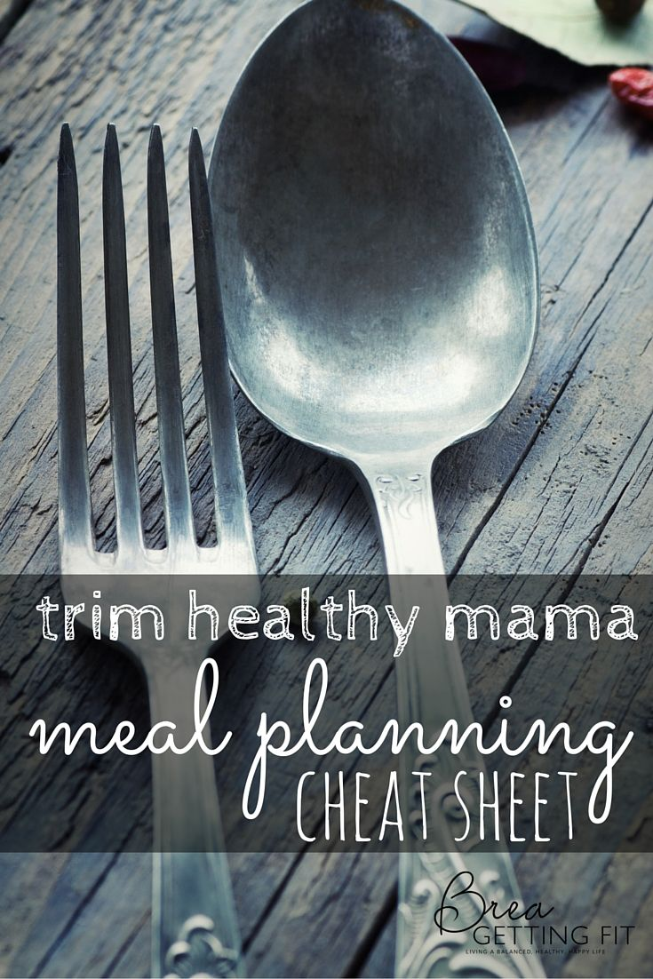 It is an image of Epic Trim Healthy Mama Meal Plan