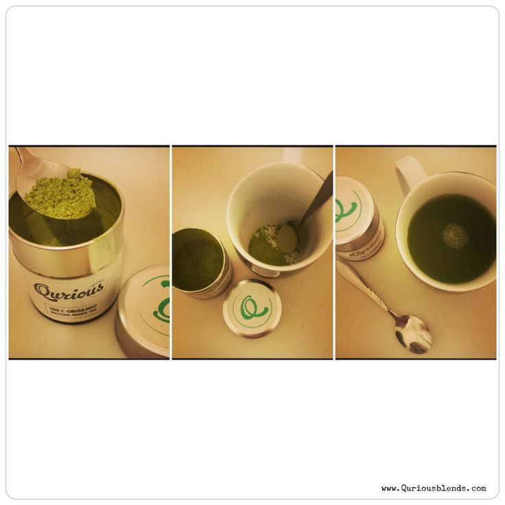 Start to finish - the ease of making a good cup of Qurious Blends Matcha is nothing compared to the supreme benefits your body receives