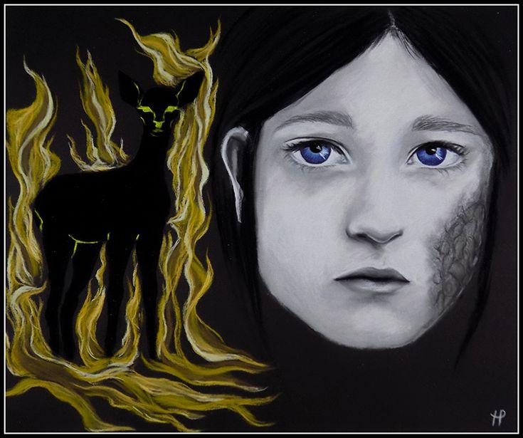 Shireen Baratheon (art by Anastasia Robozeeva)