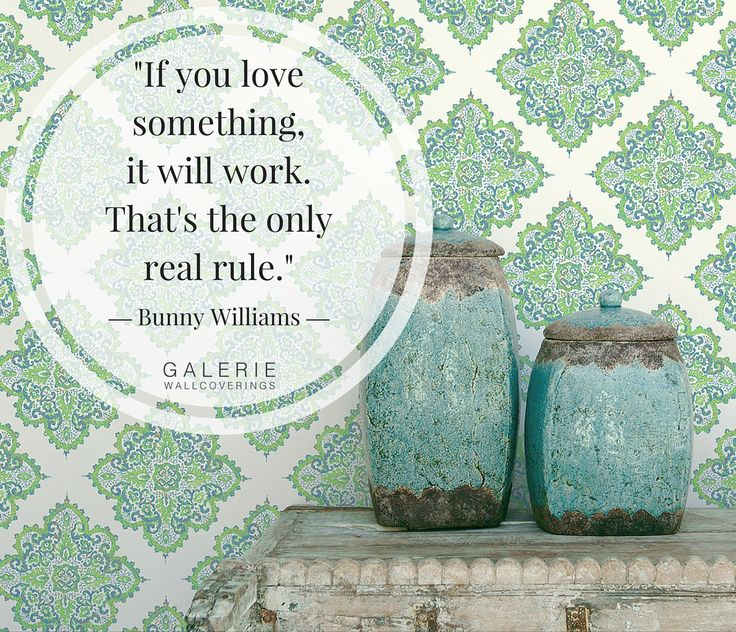 """""""If you love something, it will work. That's the only real rule."""""""