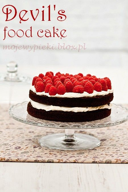 Devil's food cake w/ gluten free betty crocker devil's food cake mix