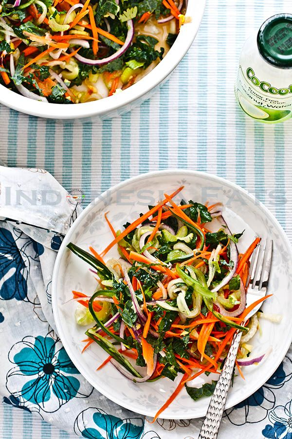 Raw Kale Salad With Nuoc Mam Cham