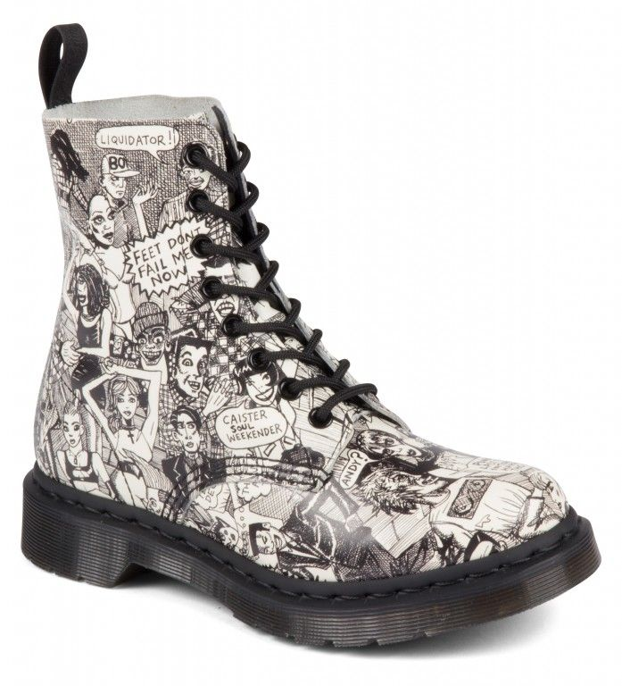 Dr. Martens Pascal White Party People - 28086