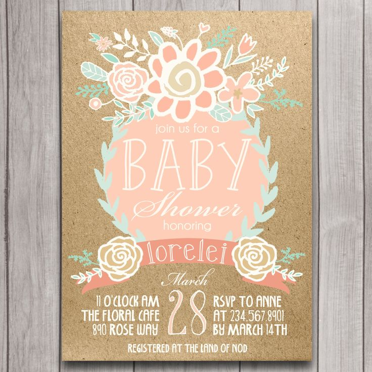 baby shower invitation for twins%0A Boho Baby Shower Invitation Printable  Coral  Mint  Gold Floral  Bohemian  Chic Baby Girl Invite Download  Pink  Green  Invites