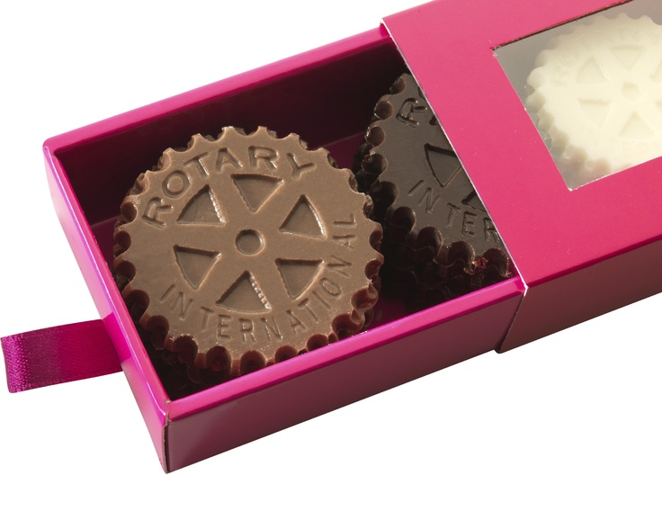 Prix / Price (Roues du Rotary en chocolat )