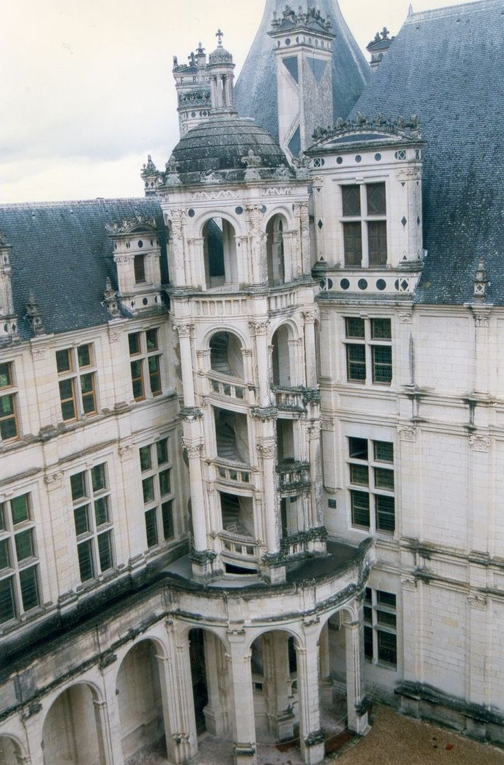 France LoiretCher Chambord Chateau 04 Architecture néo