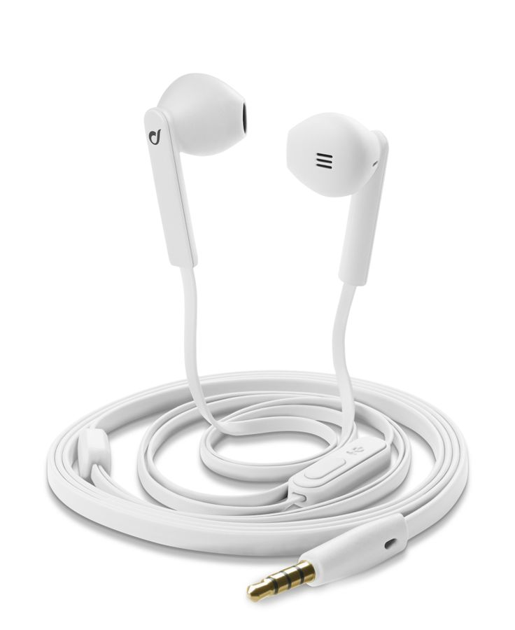 MANTIS - #Auricolari stereo a capsula con microfono, colore #bianco https://www.cellularline.com/catalog/it/product/mantis