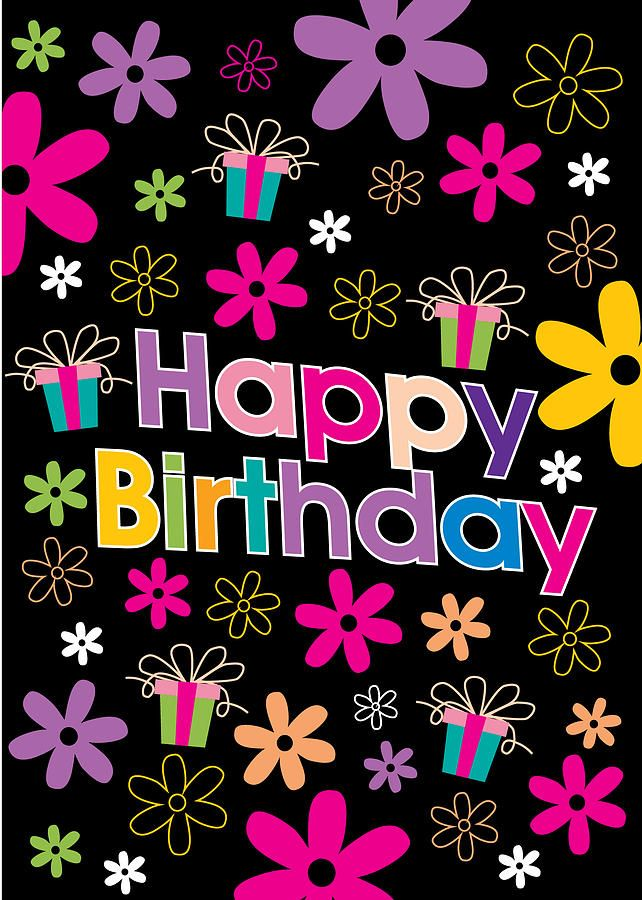 happy birthday flower images - Google Search