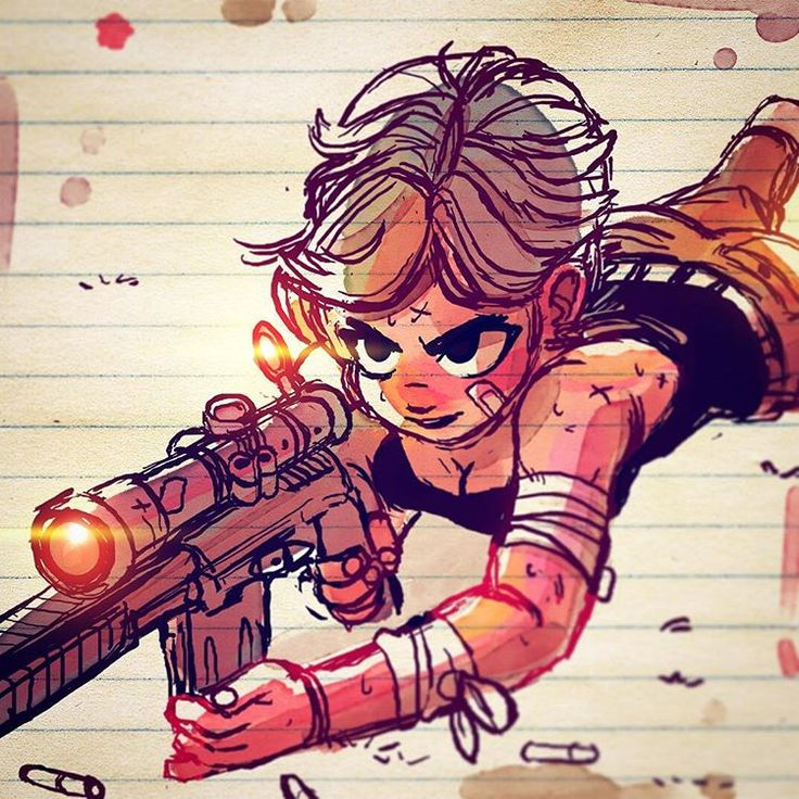 Sniper ‼️ watch out‼️ #art #drawing #sketch #characterdesign #sniper #illustration