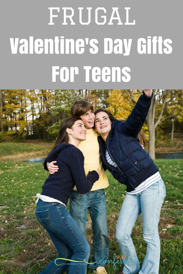Frugal Valentine's Day Gift Ideas For Teens