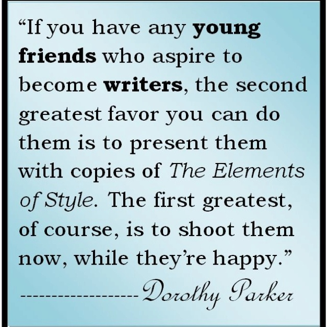 1926 dorothy essay parkers Dorothy parker 1893–-1967 american poet, essayist, and short story writer as a poet, parker is best known for three slender volumes of verse, enough rope (1926).