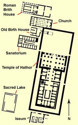 Analysis of three ancient Egyptian architectural structures