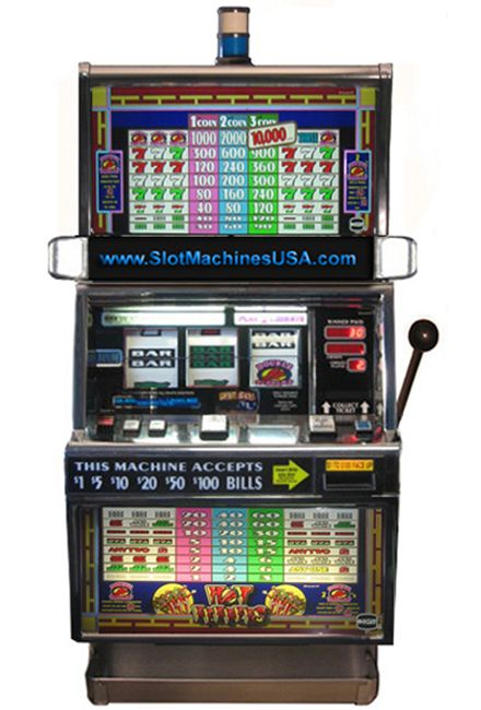 video poker slot machine for sale