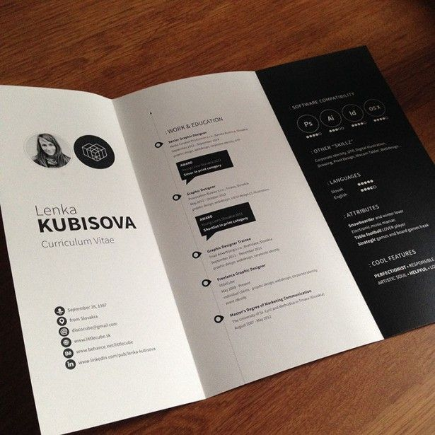 curriculum creativo! Lenka Kubisova