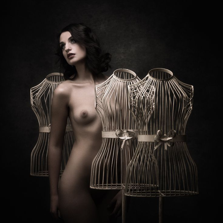 Buy Do the mannequins dream? - Art nude, Colour photograph (giclée) by Peter Zelei on Artfinder.