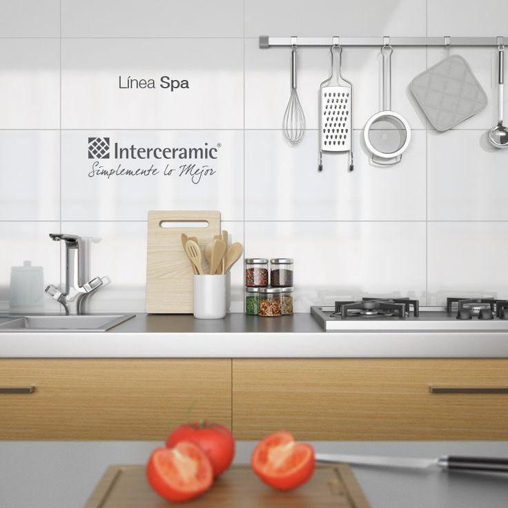 En una #cocina Interceramic, todos los platillos son gourmet