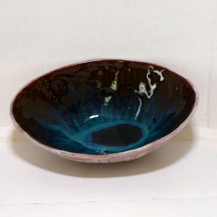 Blue Eye Bowl #smoochceramics #ceramics #pottery