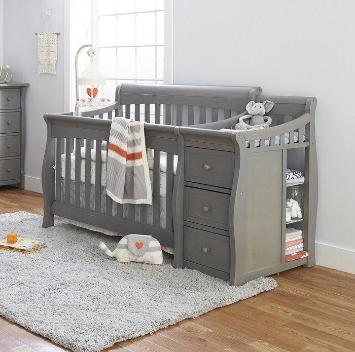 Princeton Elite 4 In 1 Convertible Crib And Changer Best Baby