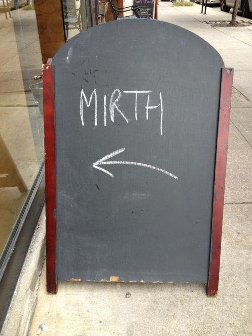 """Yeah, you know, """"mirth"""" Uncle Barry's Brooklyn, NY 10/02/12"""