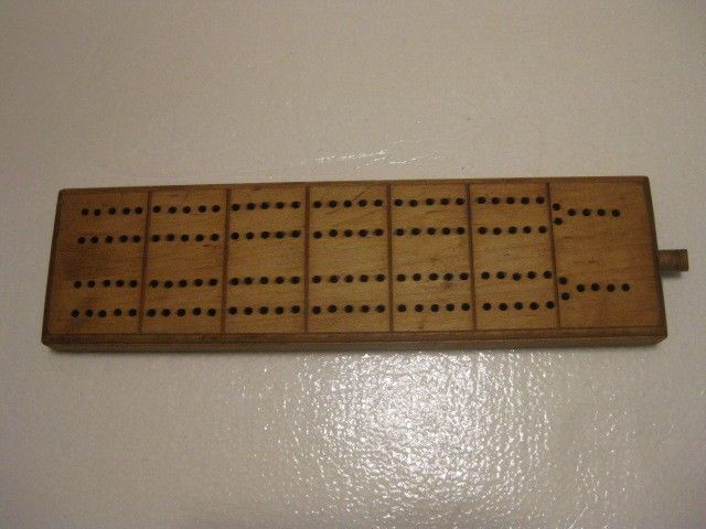 Madison Wis East High Cribbage board Go Packers Go Badgers Bucks