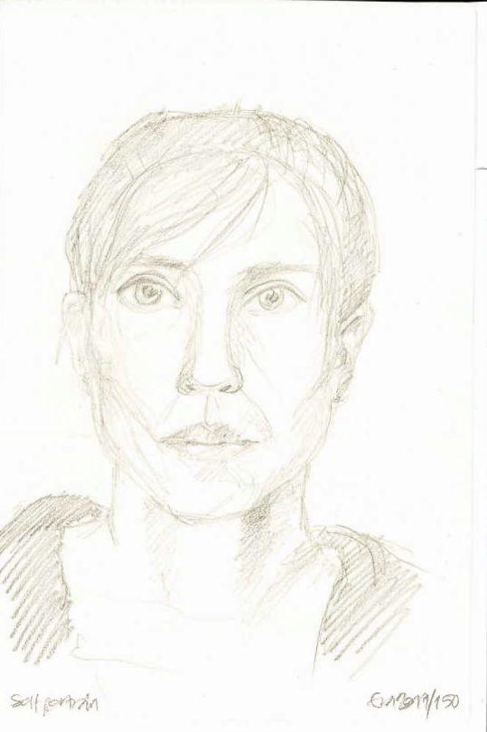 150/365: Self portrait.