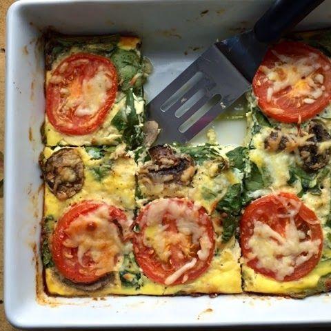 Food Impressions: Spinach Feta Frittata Bake (17 D…