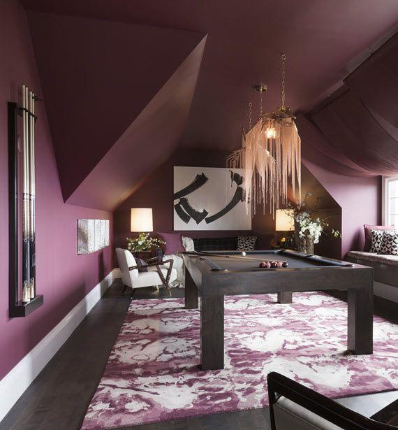 52 Splendid Home Bar Ideas To Match Your Entertaining: Billards Room // San Francisco Decorator Showcase // Geen