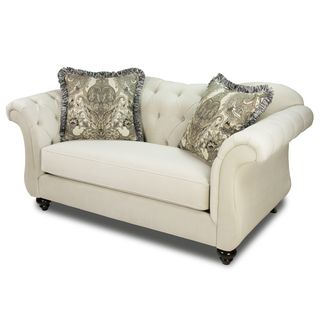 Furniture of America Agatha Traditional Tufted Loveseat - Overstock™ Shopping - Great Deals on Furniture of America Sofas & Loveseats