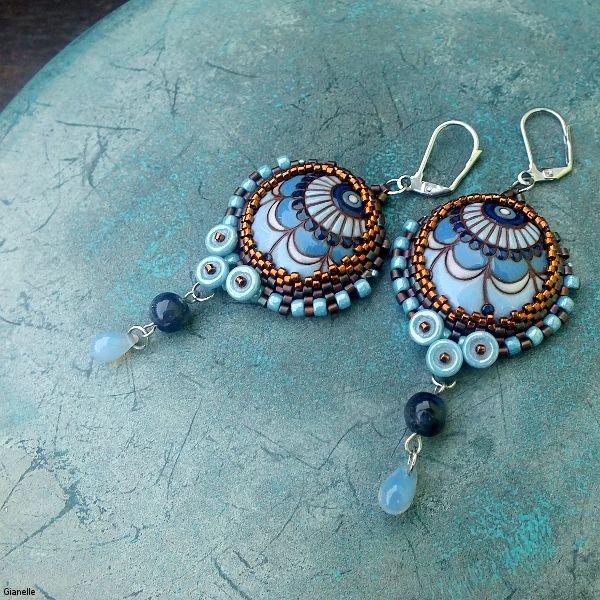 earrings by gianelle