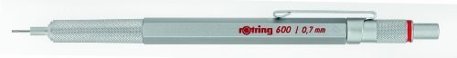 Rotring - 600 - 0,7mm Silver Mechanical Pencil, Delivered in Rotring Carton Box. by Rotring, http://www.amazon.co.uk/dp/B00AZX1P9C/ref=cm_sw_r_pi_dp_PnxIrb1C6112W