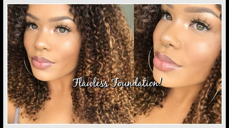 Full Coverage Flawless Foundation Routine