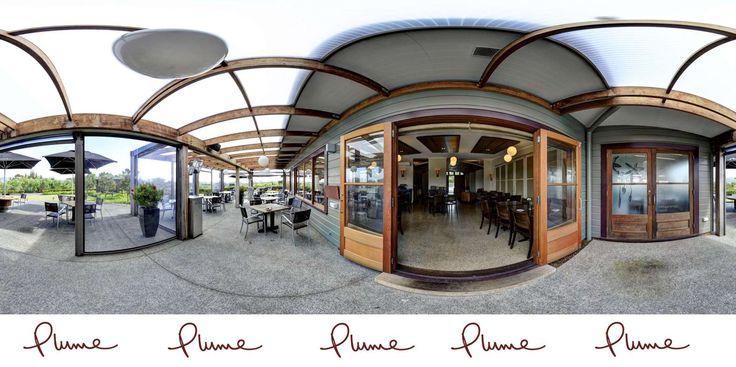 Plume Restaurant Matakana is offering both indoor and patio dining,
