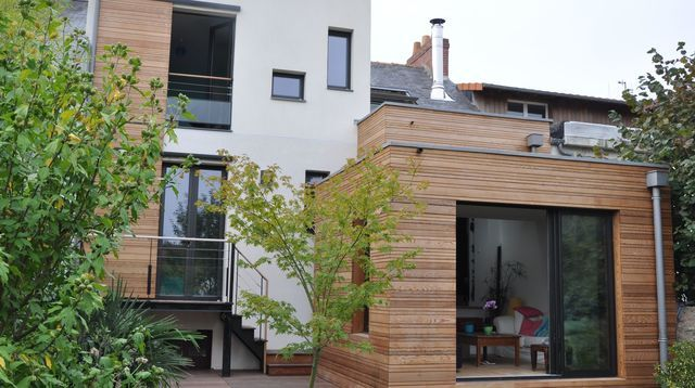 extension en bois les r gles conna tre d co home en. Black Bedroom Furniture Sets. Home Design Ideas