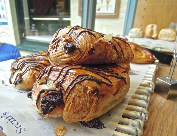 Pastries at Rick Stein's patisserie in Padstow