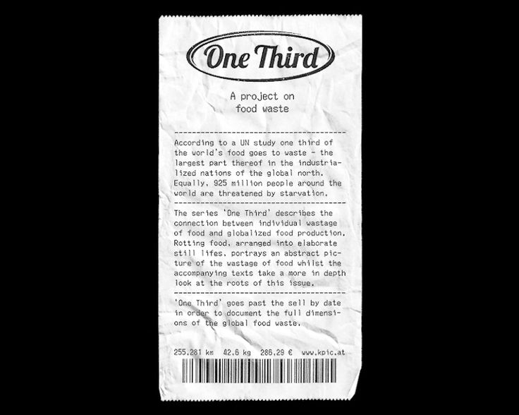 PROJECTS One Third | Klaus Pichler