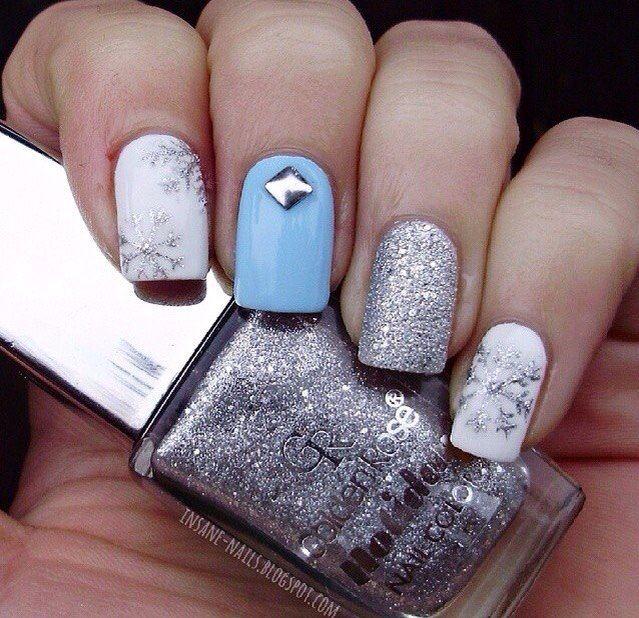 #гель_лак #лак #маникюр #дизайн_ногтей #ногти #литье #бархатный_песок #новогодний_маникюр  МАТЕРИАЛЫ для НОГТЕЙ: http://amoreshop.com.ua