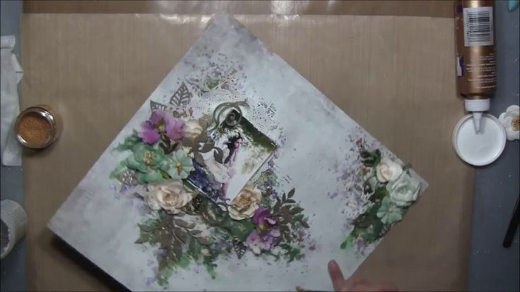''Magical'' - Mixed Media Layout Tutorial for 2Crafty Chipboard